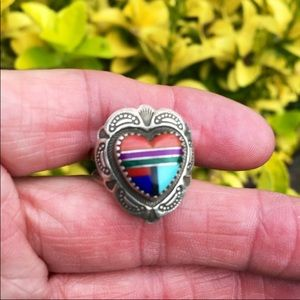QT Carolyn Pollack sterling silver retired Ring
